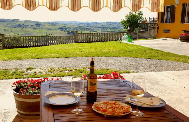 Ferieleiligheter på Cascina Castagna i Piemonte