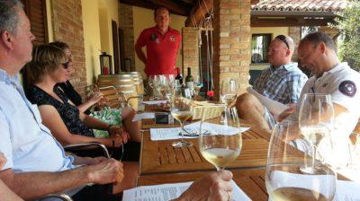 Vinsmakingstur, Cascina Castagna, Tur med vinklubben
