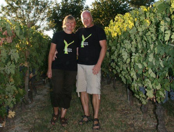 Hilde og Morten, vertskapet på Cascina Castagna, vingård i Italia