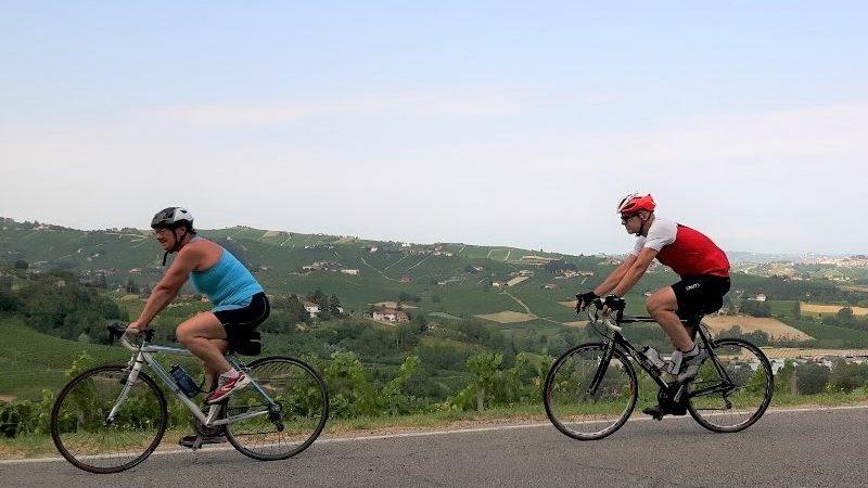 Leie sykkel i Piemonte, påsketur