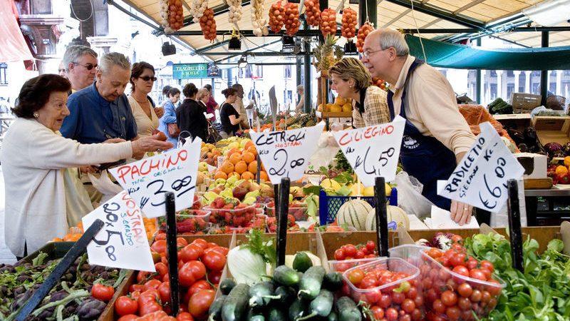 Markeder i Piemonte