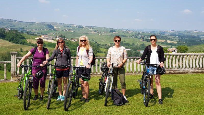 Sykkeltur i Piemonte