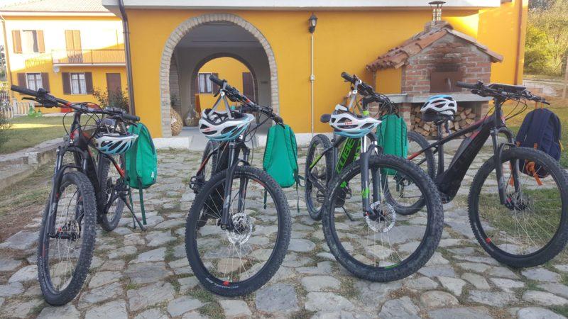 El-sykkel Cascina Castagna Piemonte