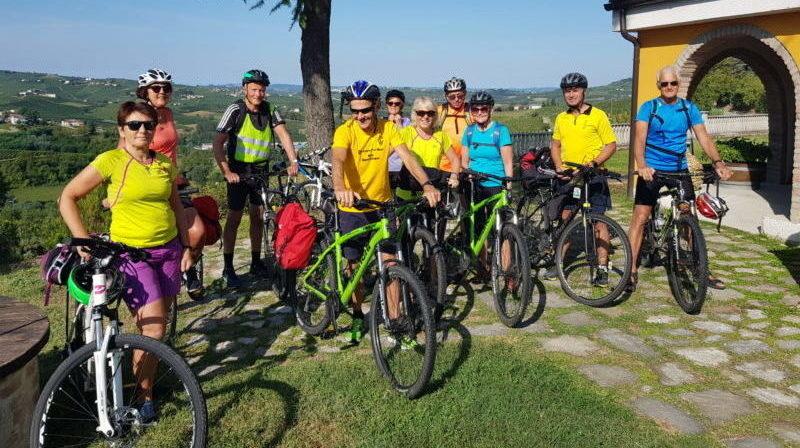 Sykkeltur i Piemonte - Cascina Castagna vingård